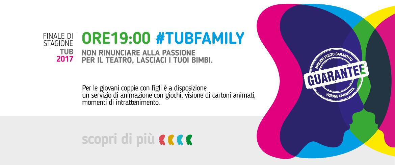 ORE19:00 #TUBFAMILY